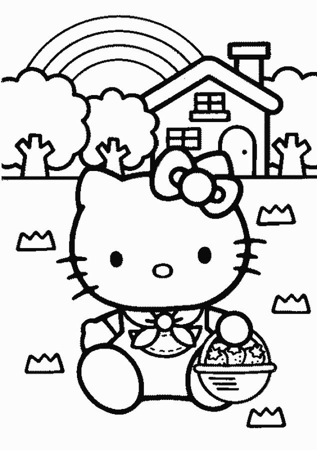 Hello Kitty Disegni Da Colorare Nomi Di Bimbi