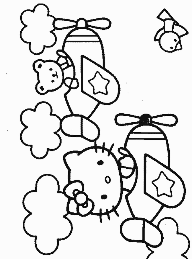 Hello kitty disegni da colorare nomi di bimbi for Disegni da colorare hello kitty